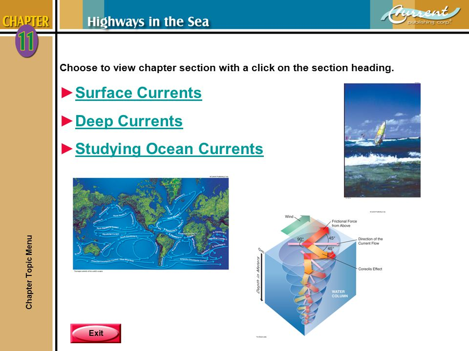 Studying Ocean Currents