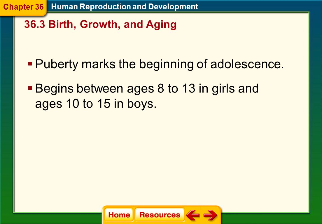 Puberty marks the beginning of adolescence.