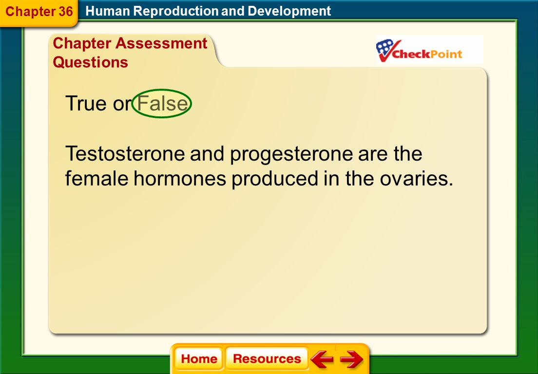Testosterone and progesterone are the