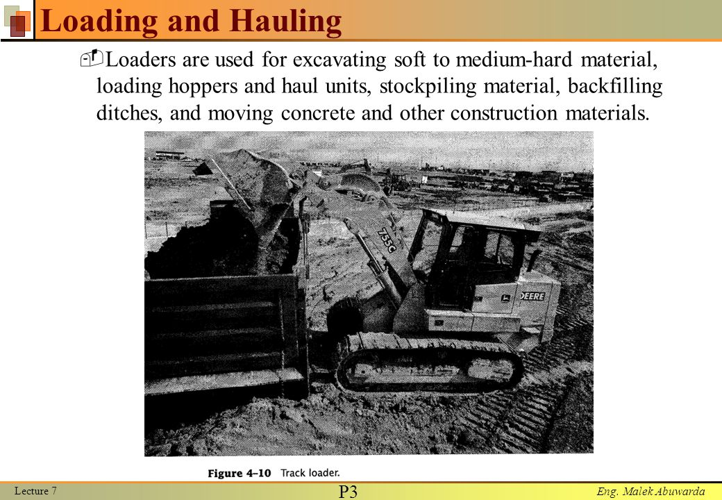 Loading and Hauling