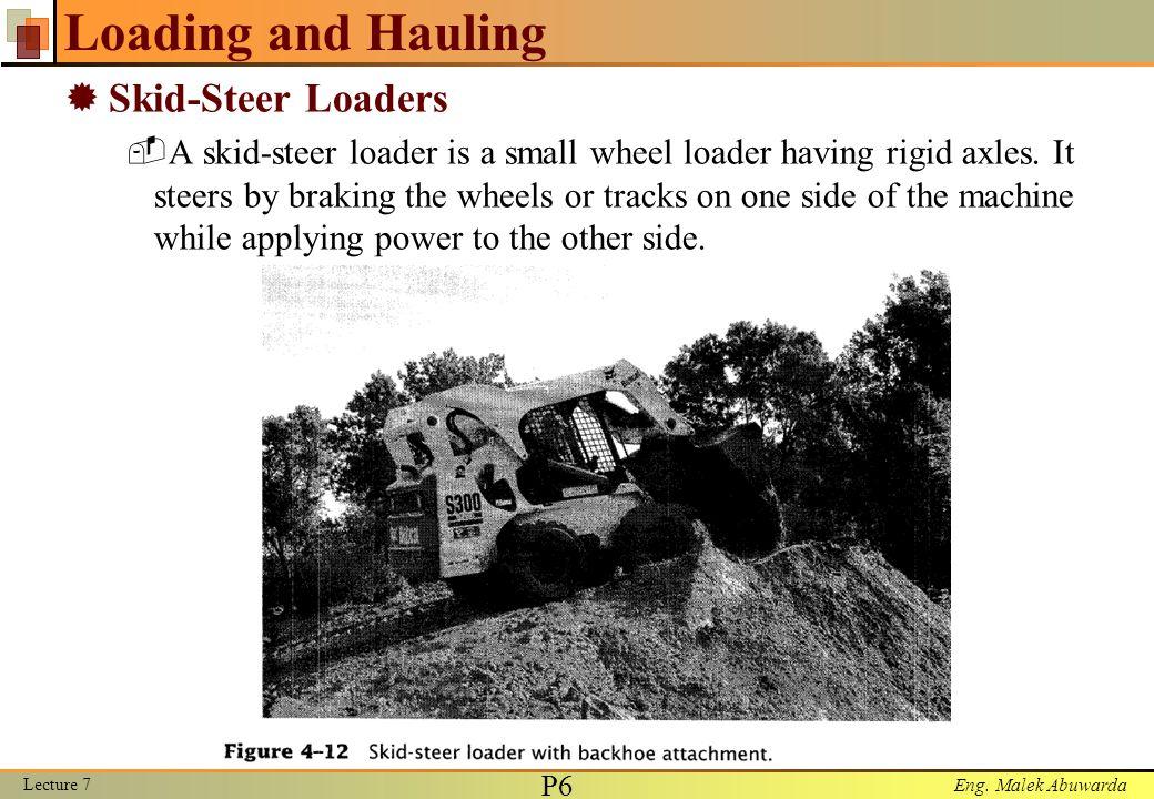 Loading and Hauling Skid-Steer Loaders