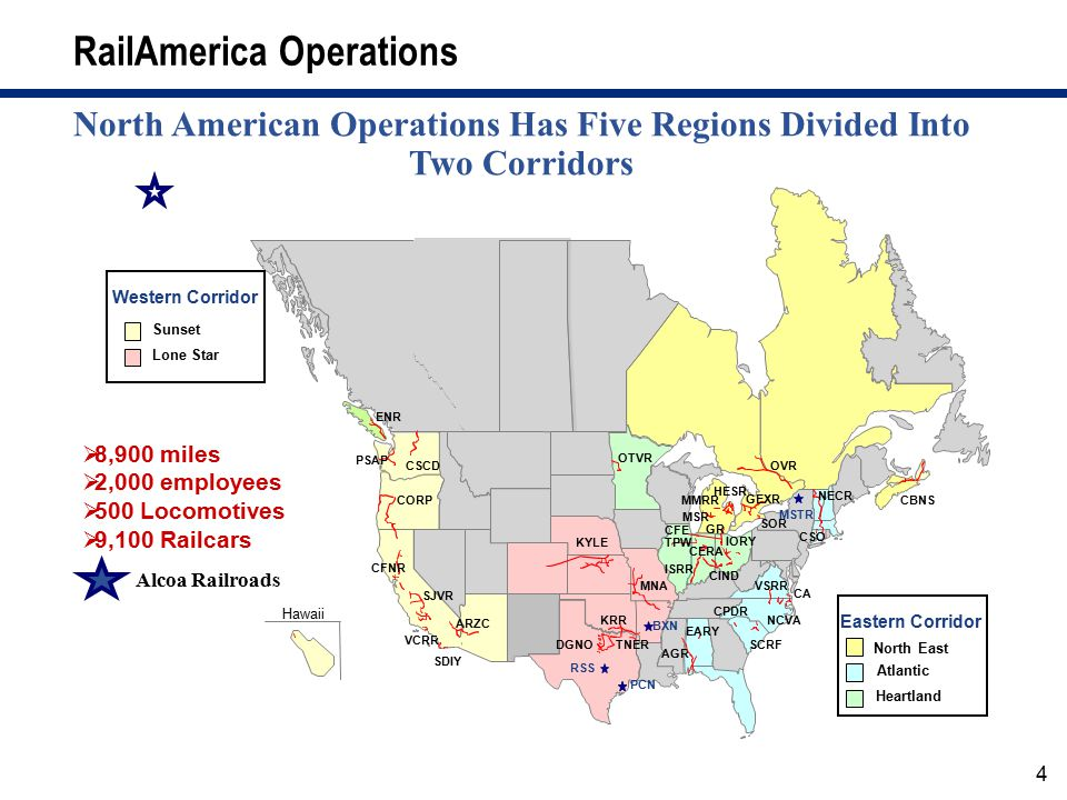 RailAmerica Operations