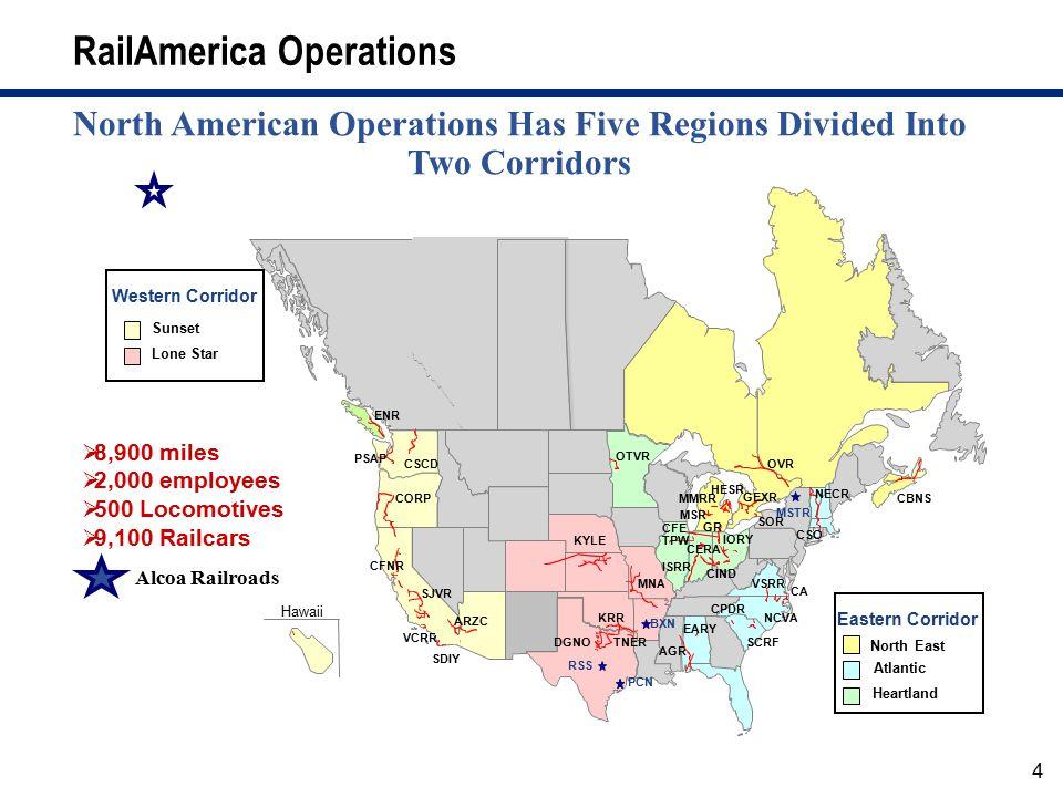 RailAmerica Operations