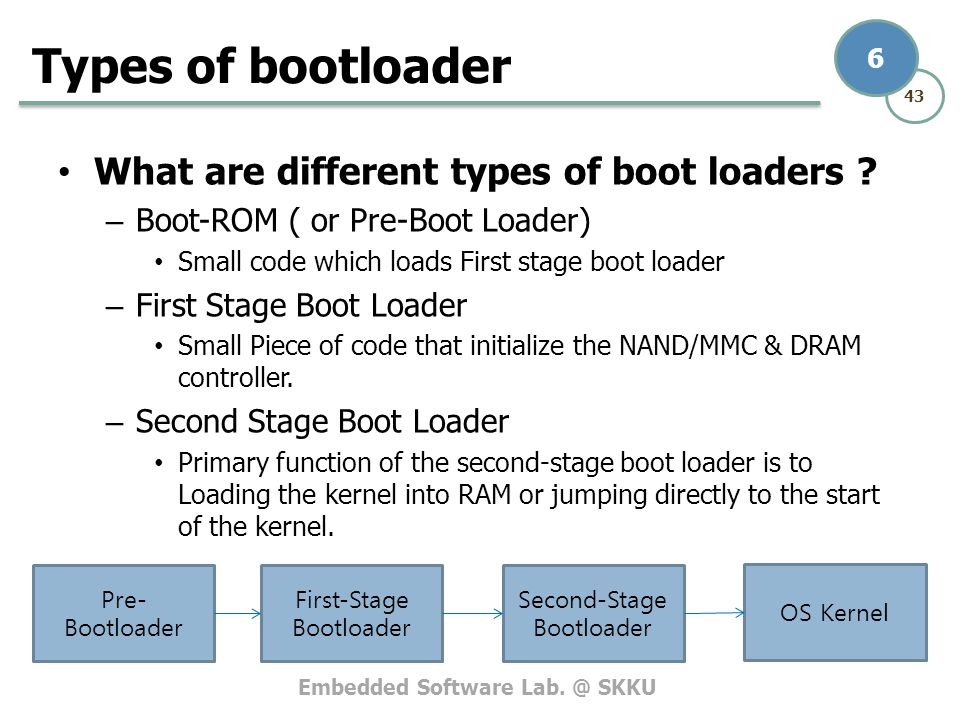 Types of bootloader What are different types of boot loaders