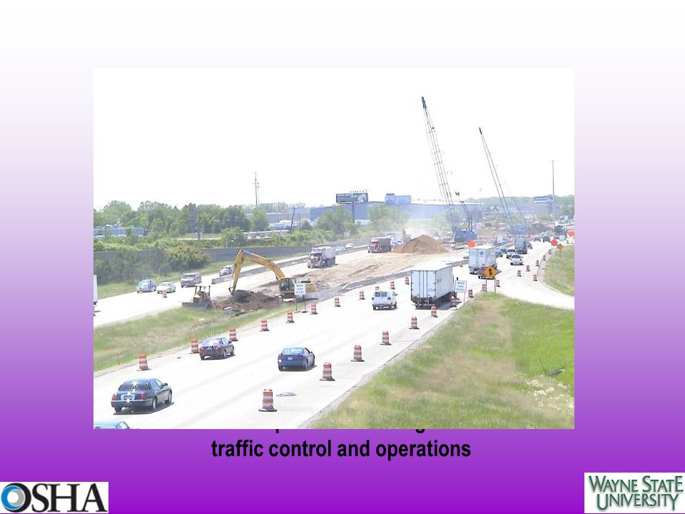 Limited work space - a challenge for internal traffic control and operations