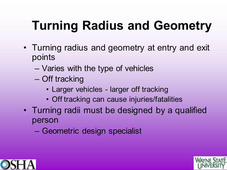 Turning Radius and Geometry