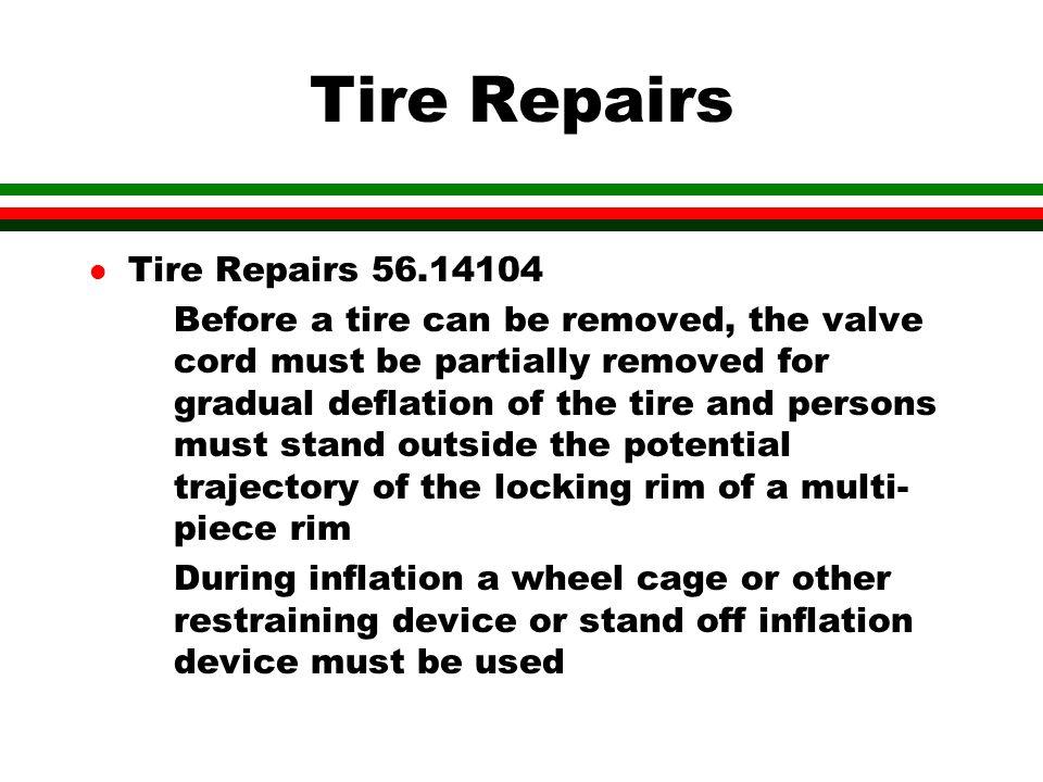 Tire Repairs Tire Repairs 56.14104