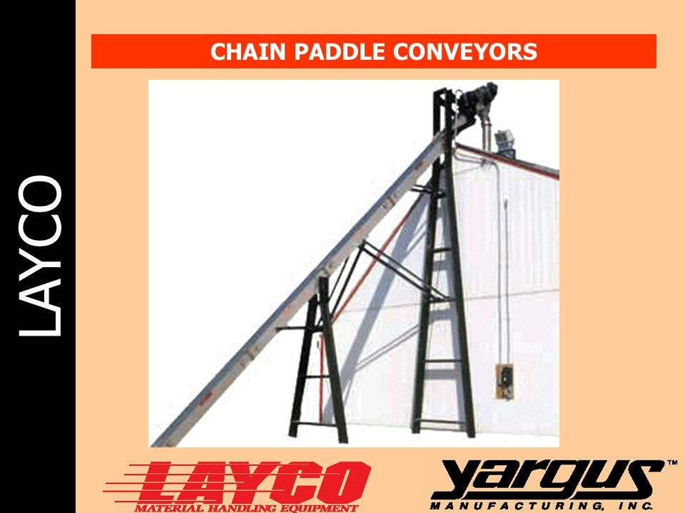 CHAIN PADDLE CONVEYORS