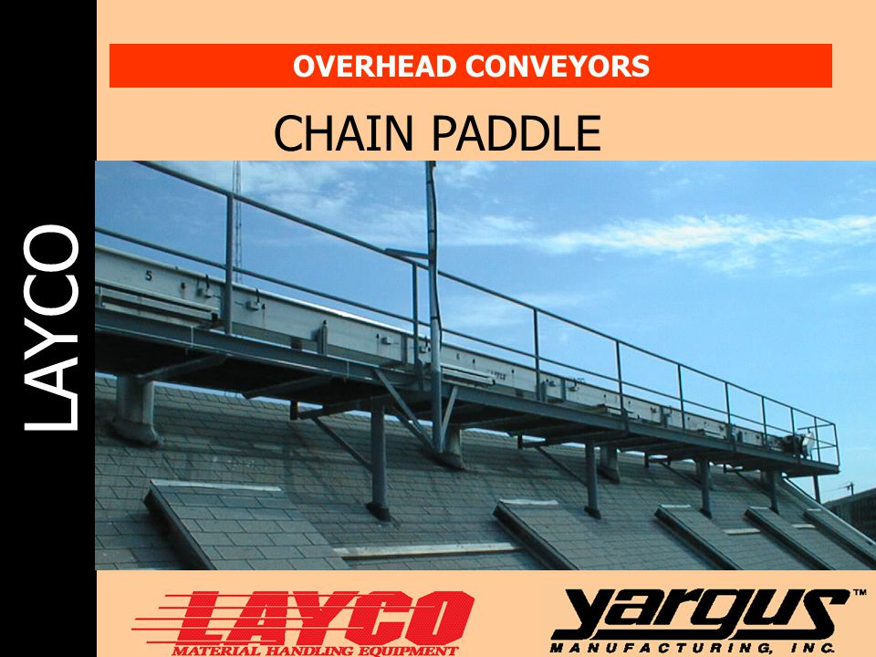 OVERHEAD CONVEYORS CHAIN PADDLE