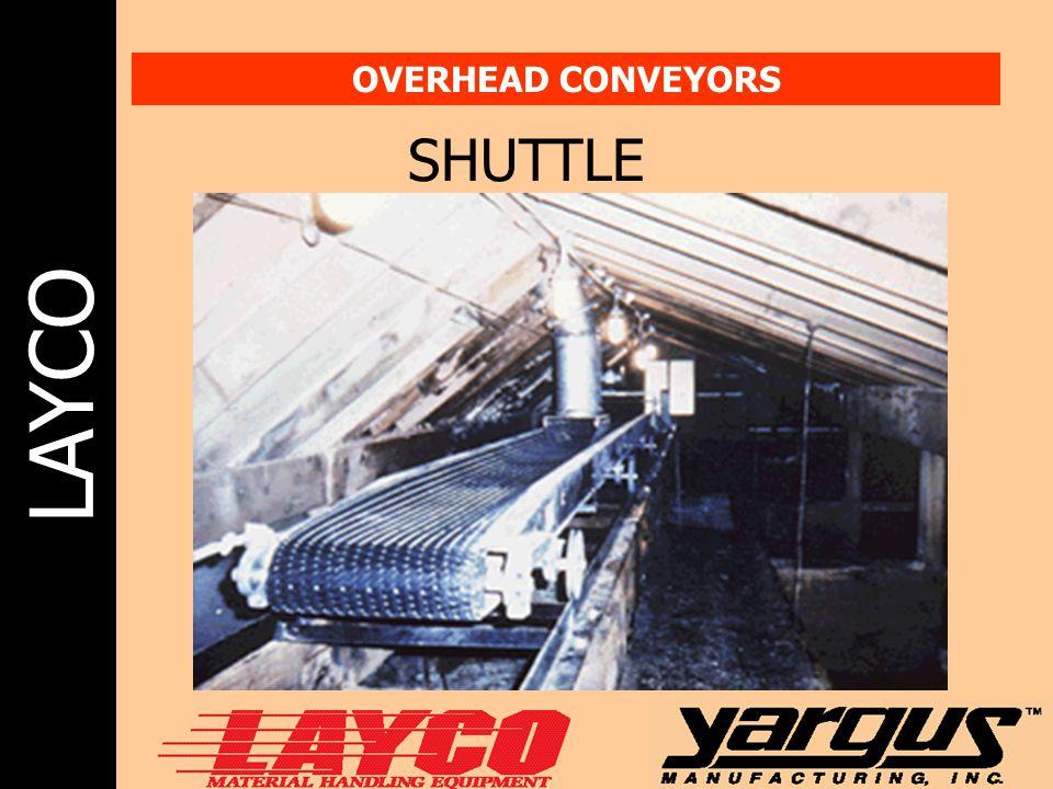 OVERHEAD CONVEYORS SHUTTLE