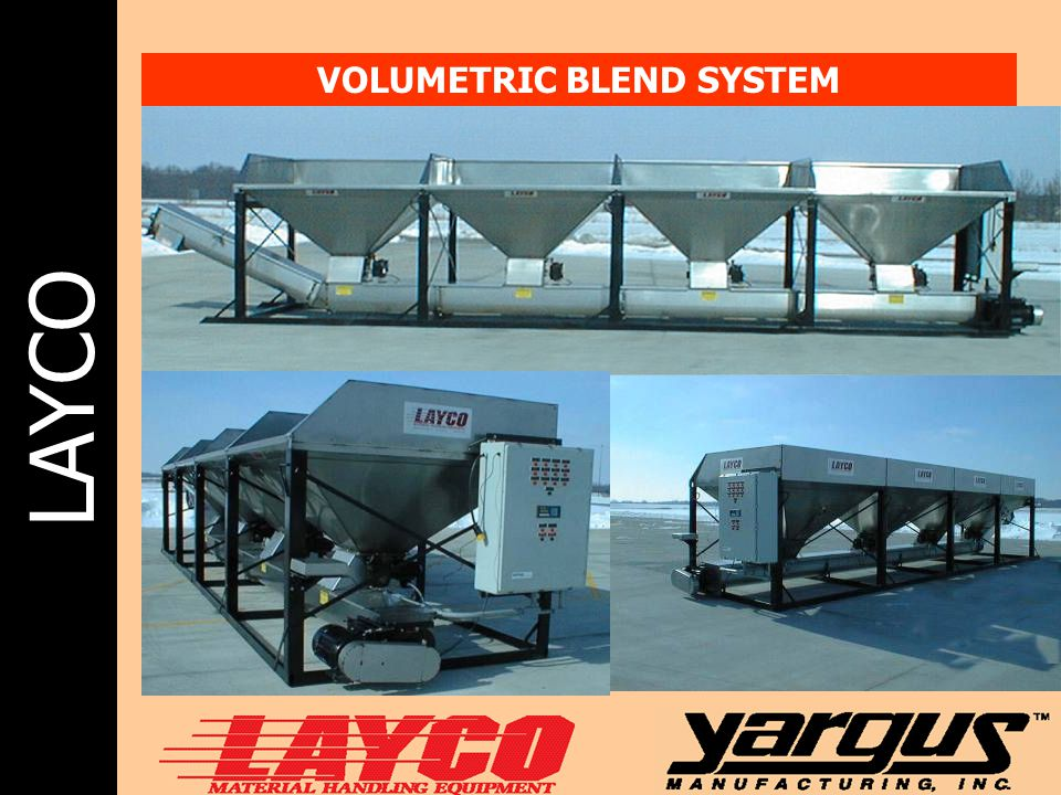 VOLUMETRIC BLEND SYSTEM