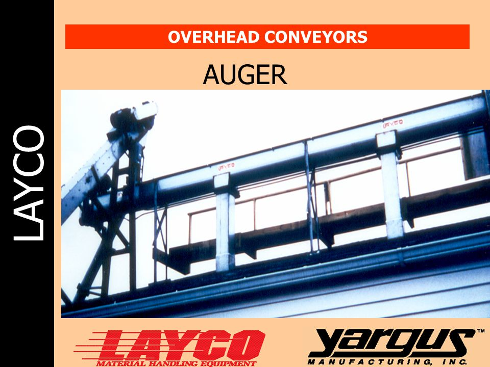 OVERHEAD CONVEYORS AUGER