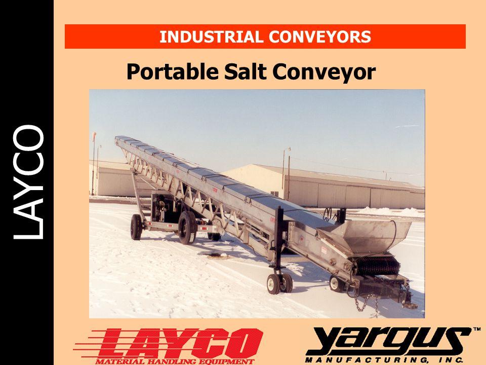 Portable Salt Conveyor