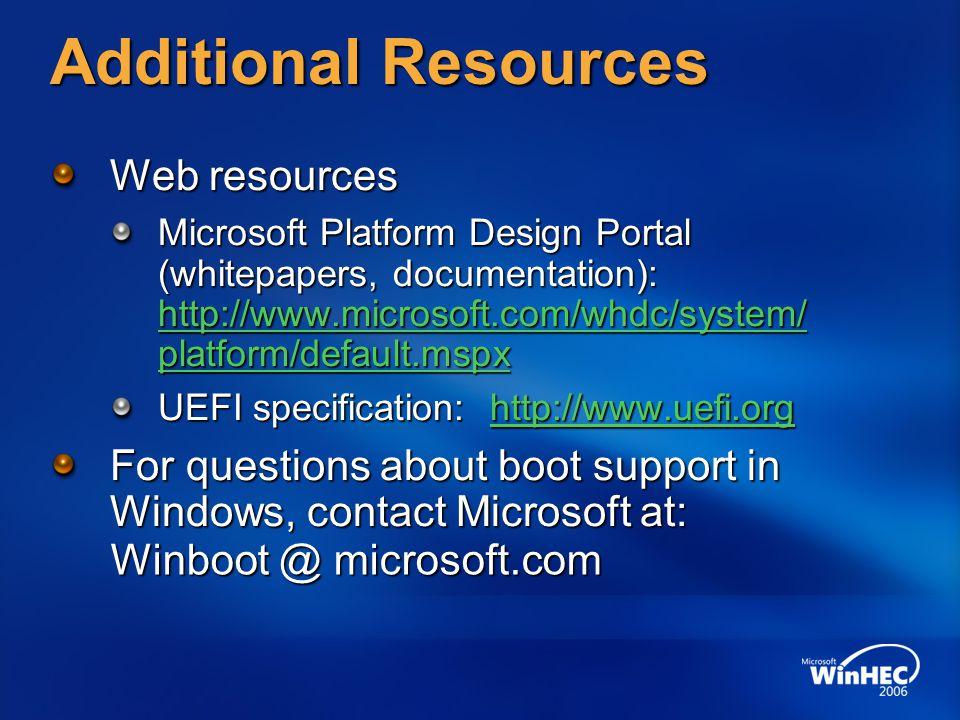 Winboot @ microsoft.com