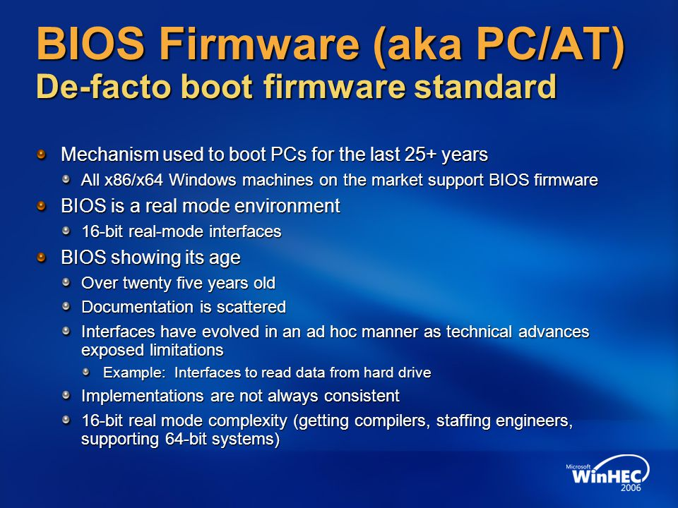firmware for pc