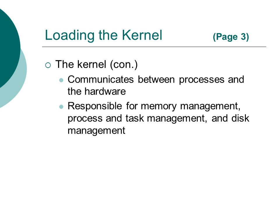 Loading the Kernel (Page 3)
