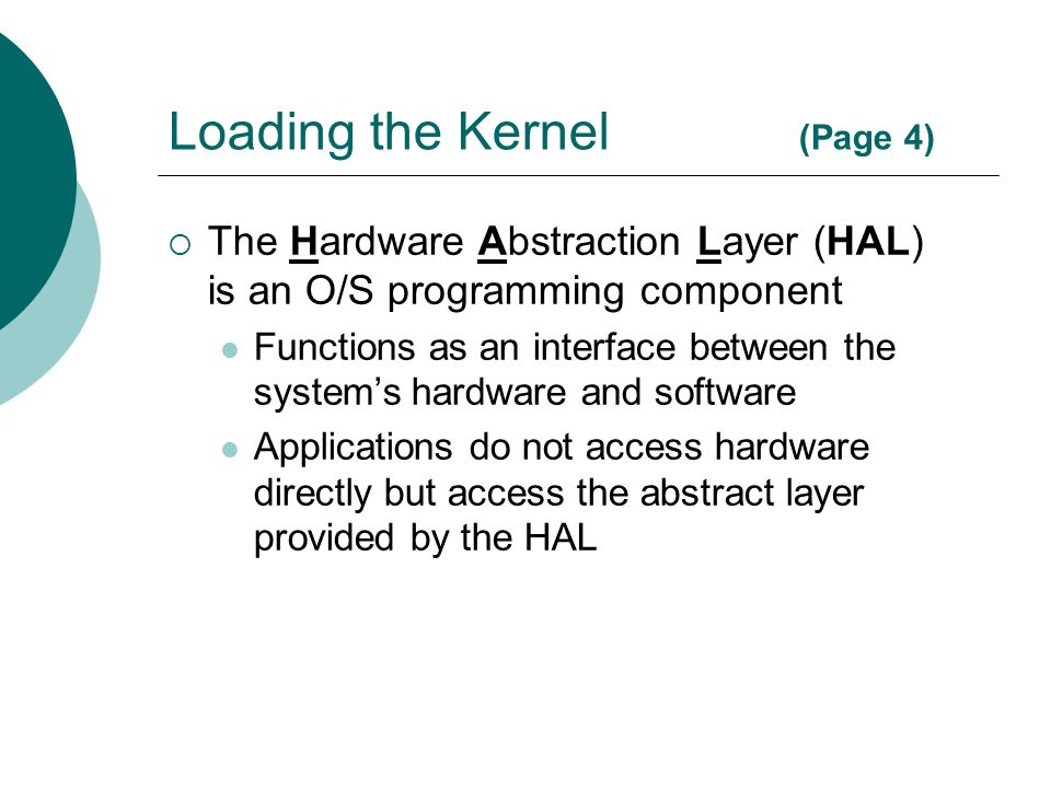 Loading the Kernel (Page 4)
