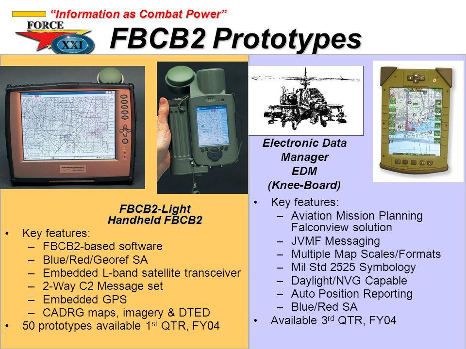 Electronic Data Manager FBCB2-Light Handheld FBCB2