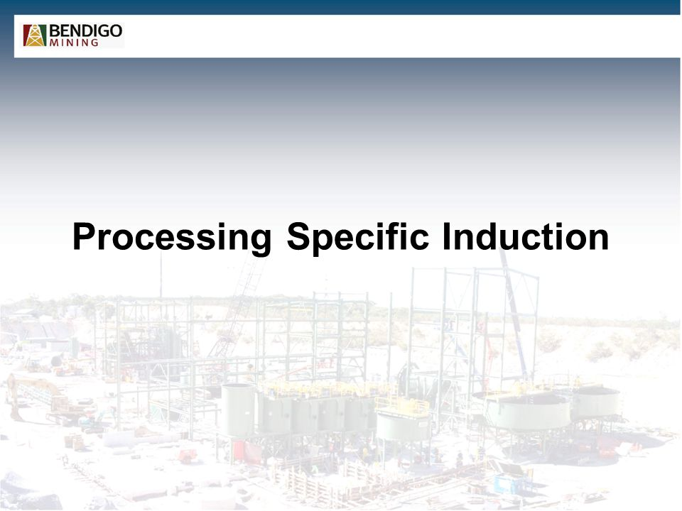 Processing Specific Induction
