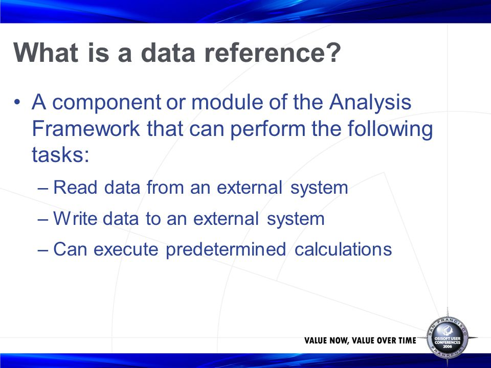What is a data reference