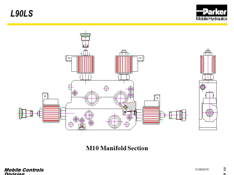 L90LS M10 Manifold Section