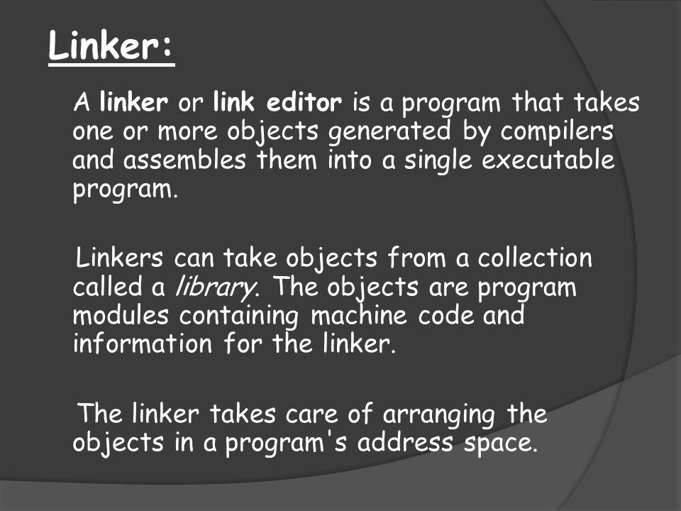 Linker: