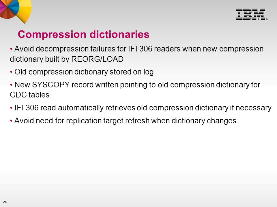 Compression dictionaries
