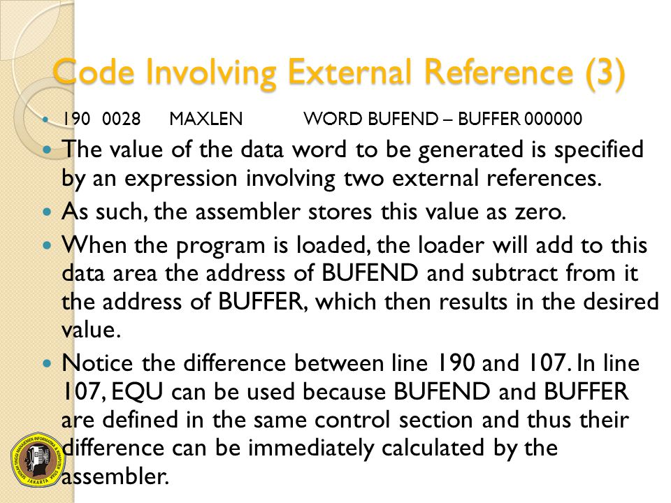 Code Involving External Reference (3)