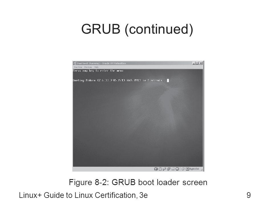 Figure 8-2: GRUB boot loader screen