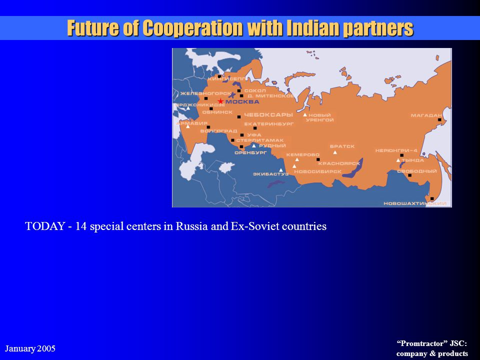 Future of Cooperation with Indian partners