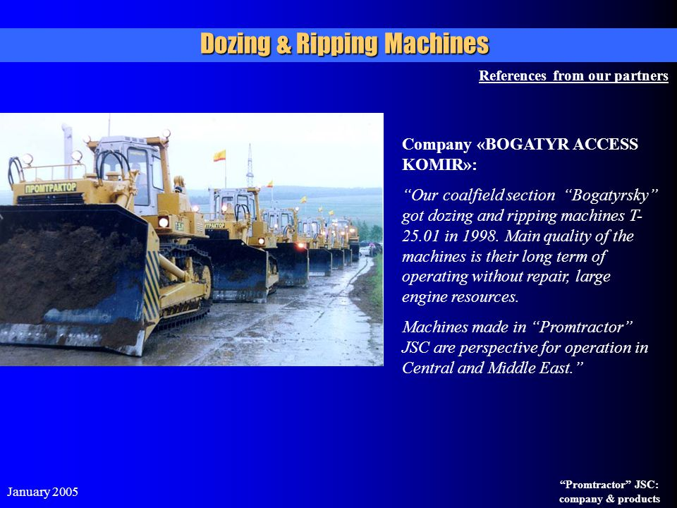 Dozing & Ripping Machines