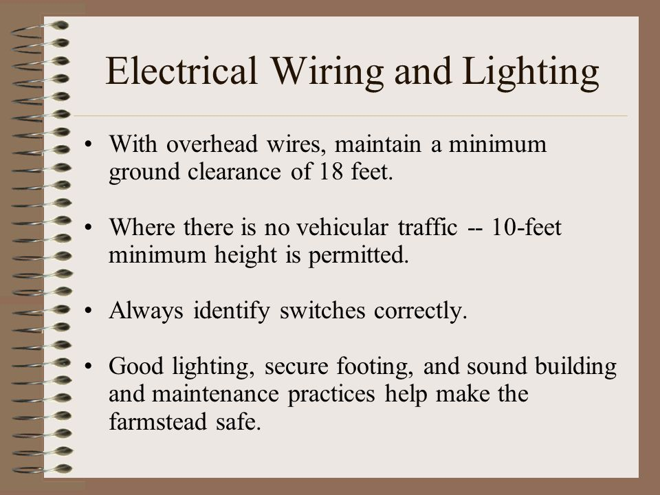 Electrical Wiring and Lighting