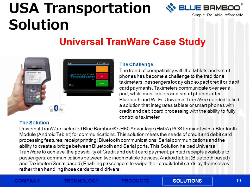 Universal TranWare Case Study