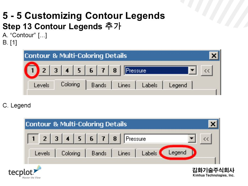 5 - 5 Customizing Contour Legends