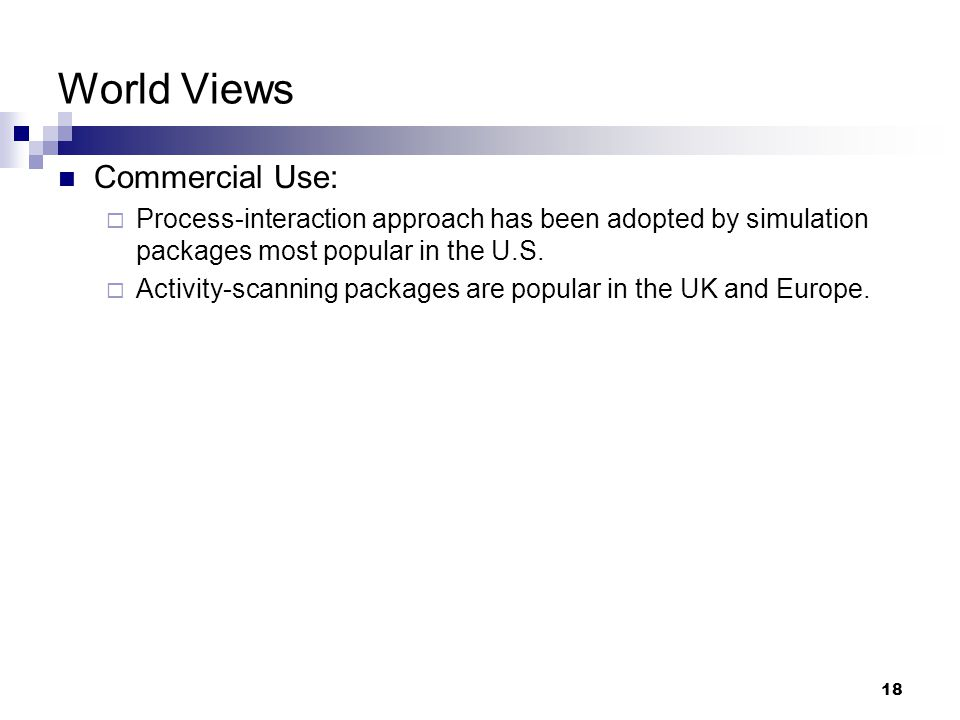 World Views Commercial Use: