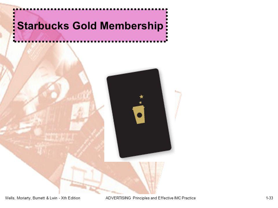 Starbucks Gold Membership
