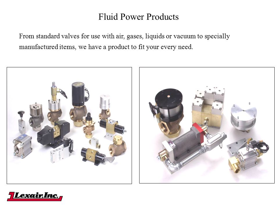 Fluid Power Products