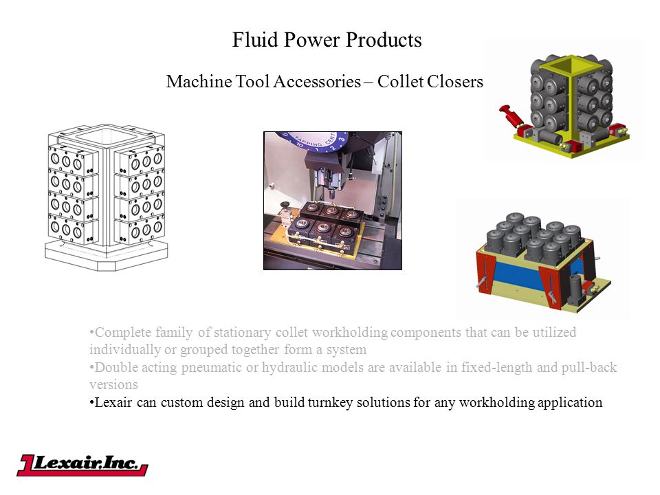 Machine Tool Accessories – Collet Closers