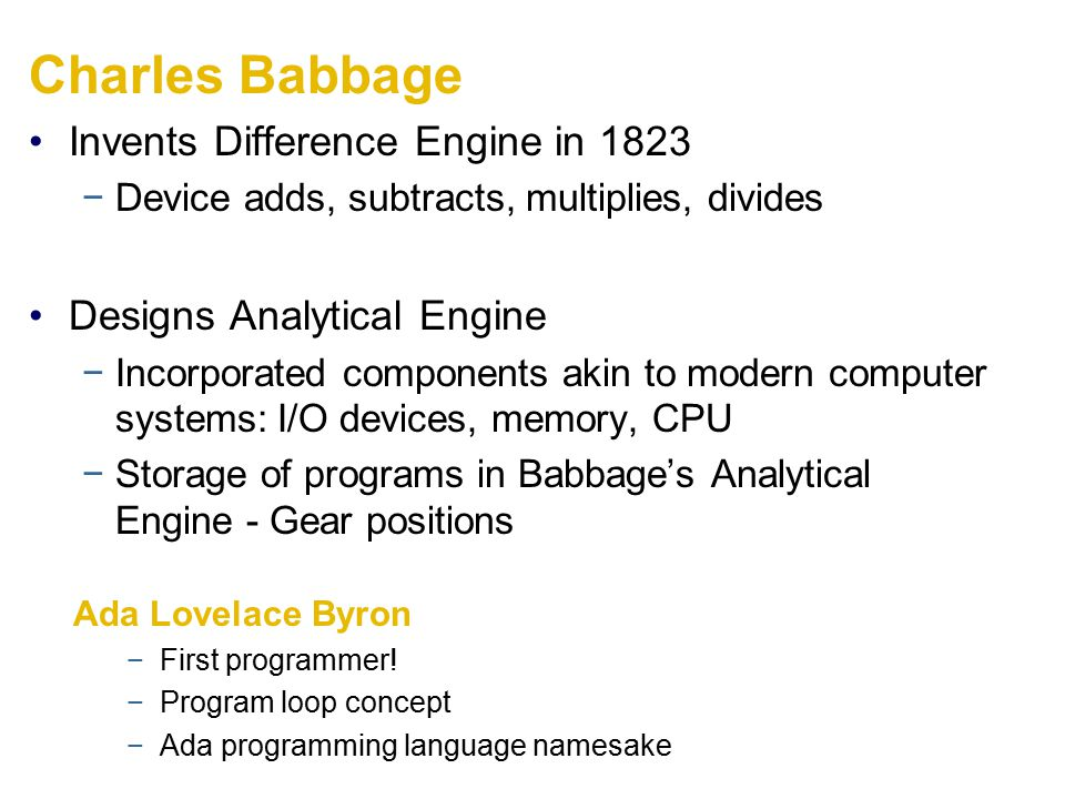 Charles Babbage Invents Difference Engine in 1823