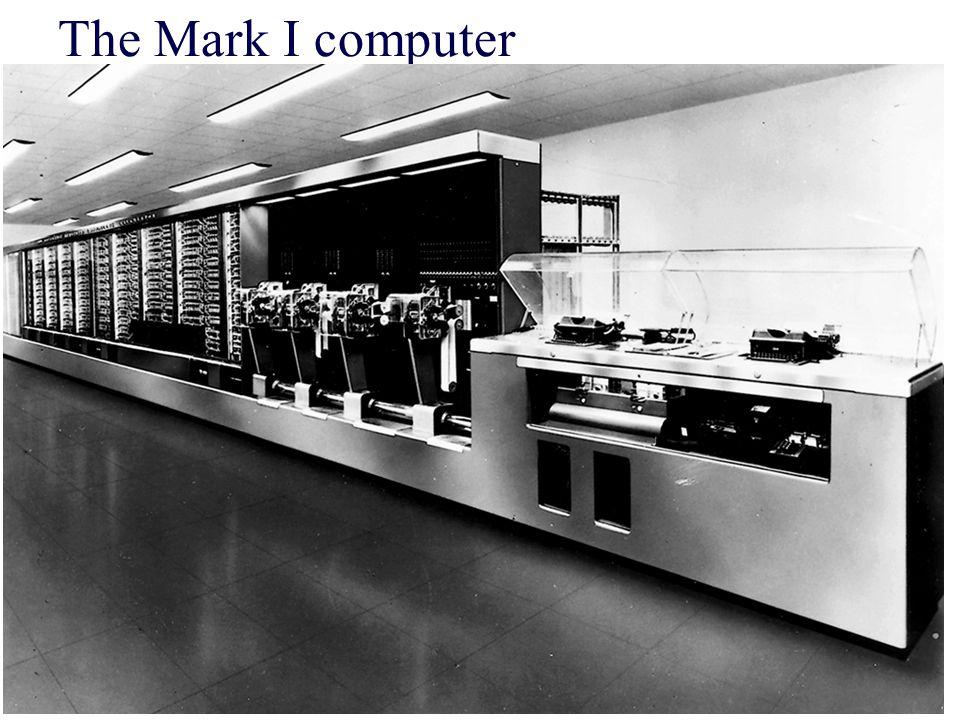 The Mark I computer