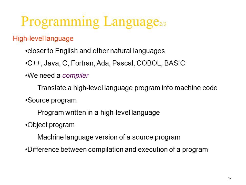 Programming Language2/3