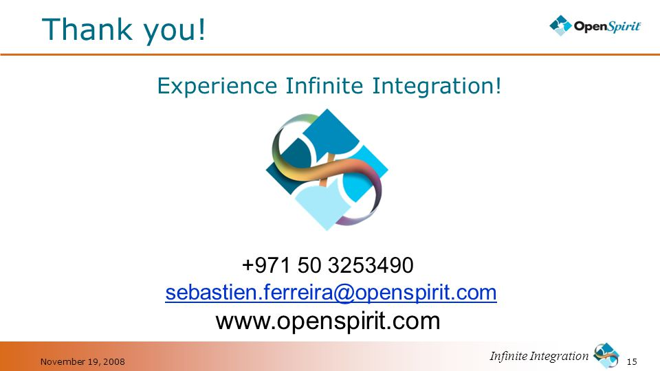 Experience Infinite Integration!