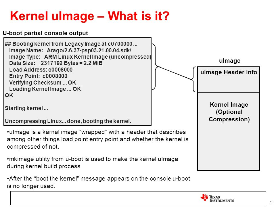 Kernel uImage – What is it