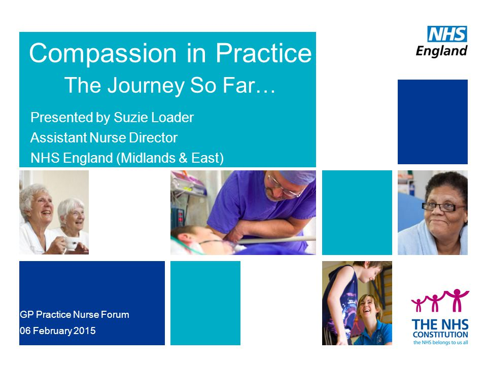 Compassion in Practice The Journey So Far…