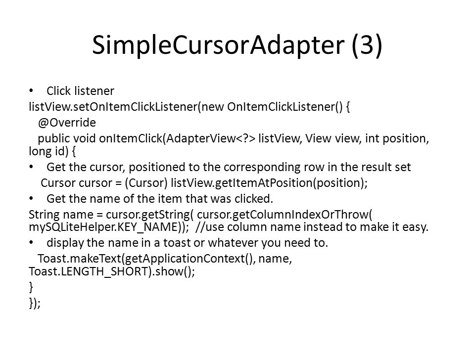 SimpleCursorAdapter (3)