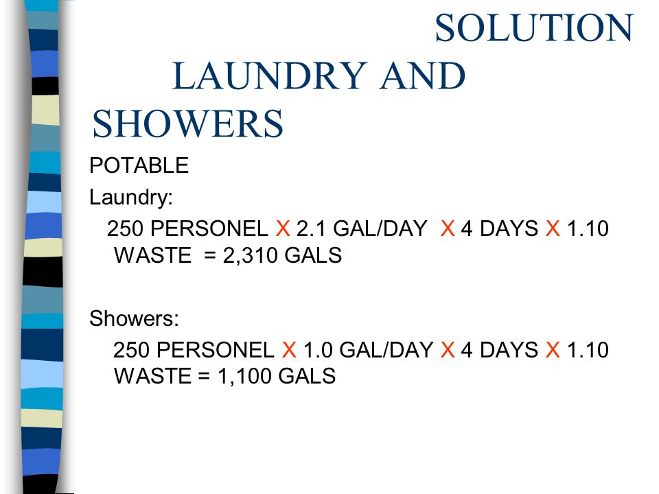 SOLUTION LAUNDRY AND SHOWERS