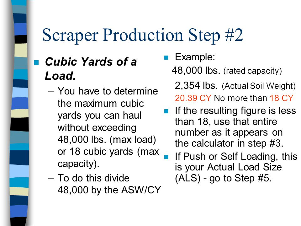 Scraper Production Step #2