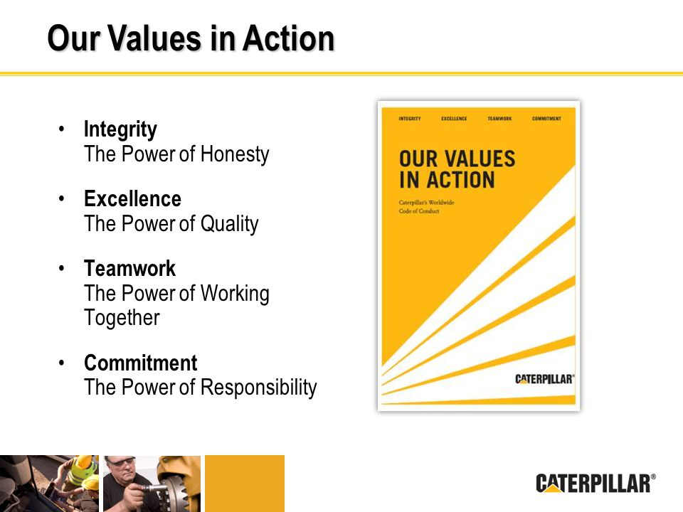 Our Values in Action Integrity The Power of Honesty