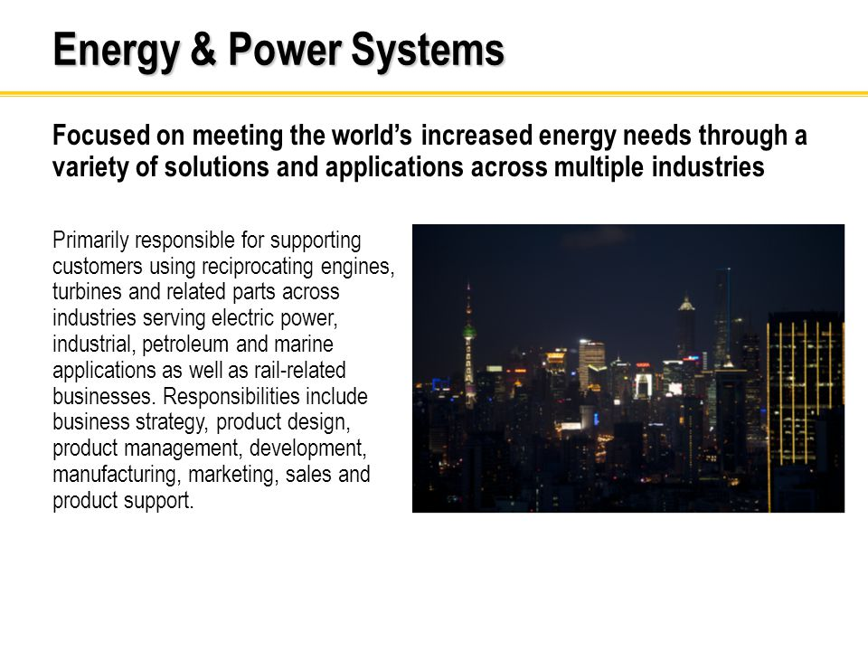 Energy & Power Systems