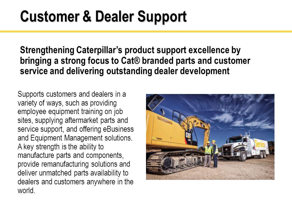 Customer & Dealer Support